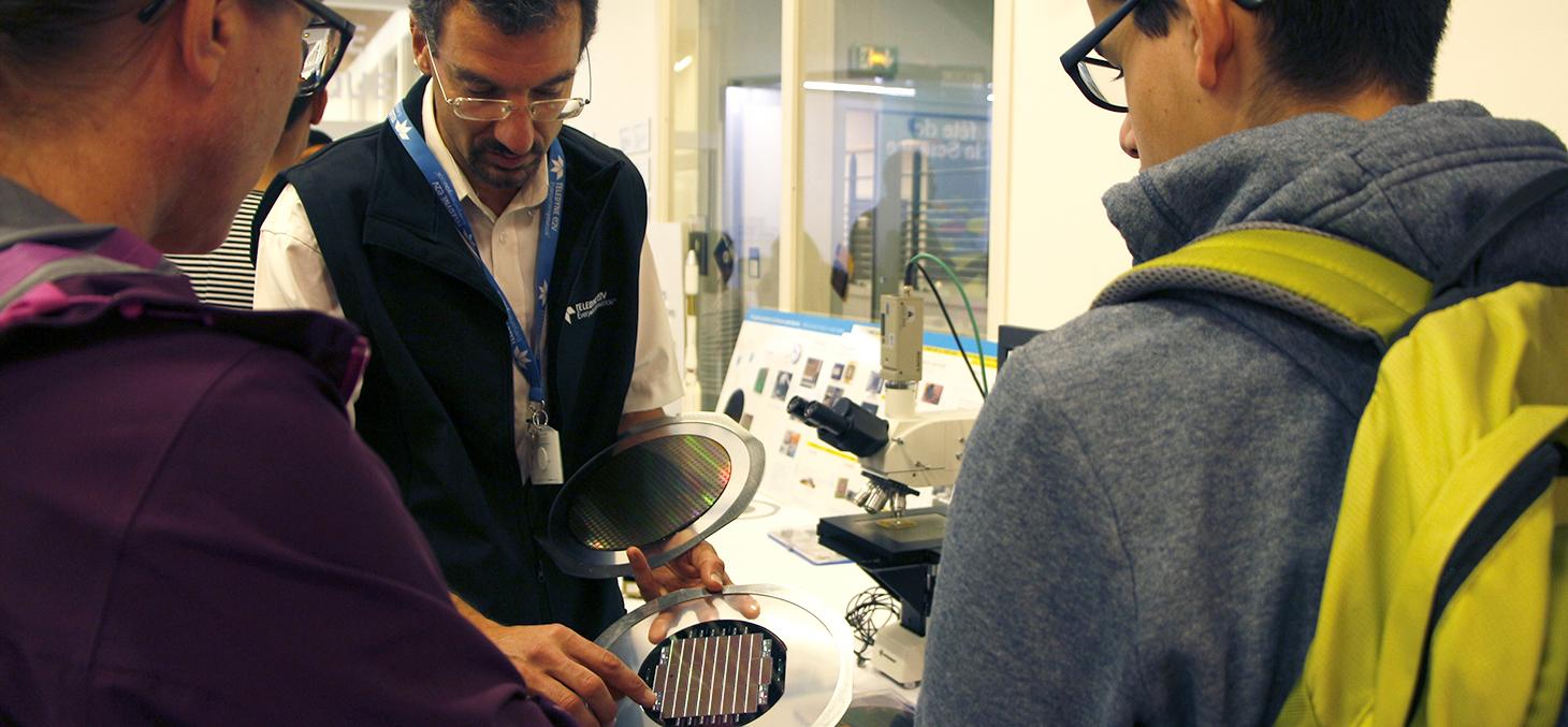 Le CSUG et Teledyne e2V à la Fête de la Science
