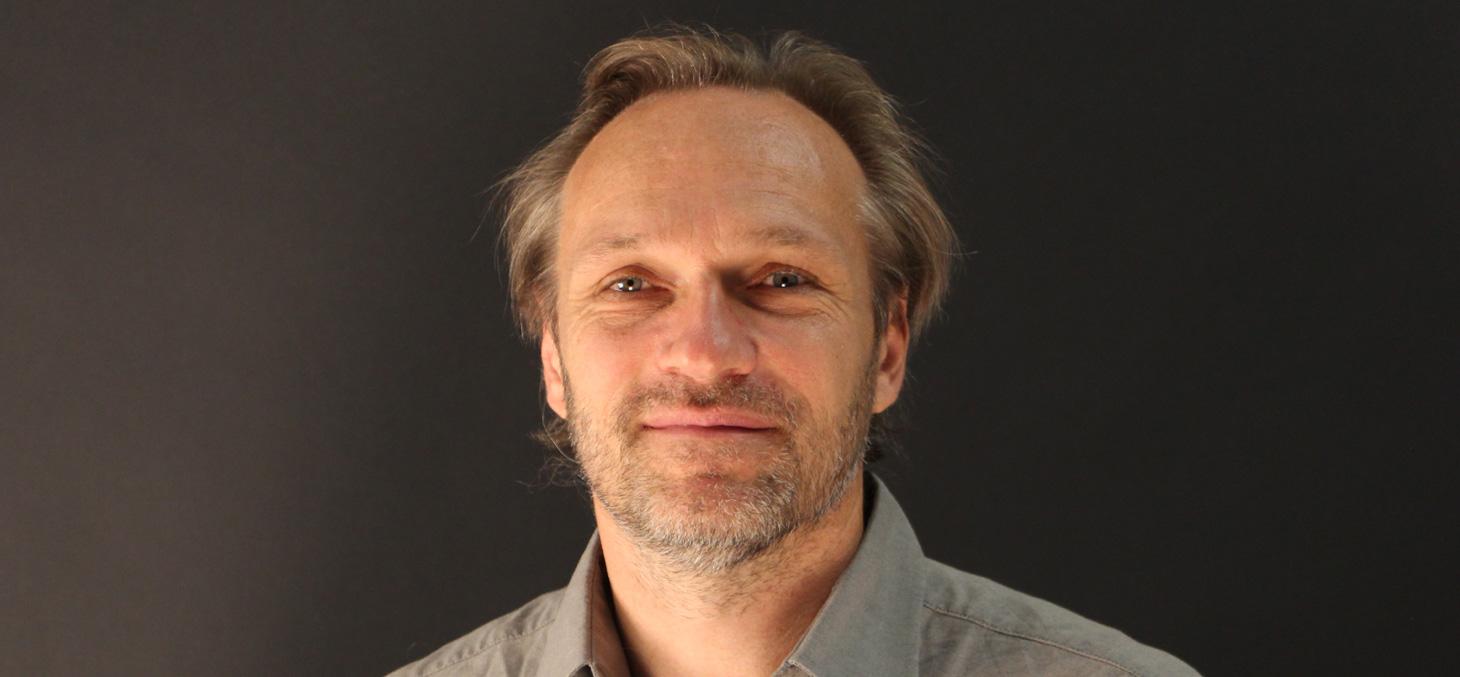 Mathieu Barthélémy lors du tournage de l'Objet de mes recherches