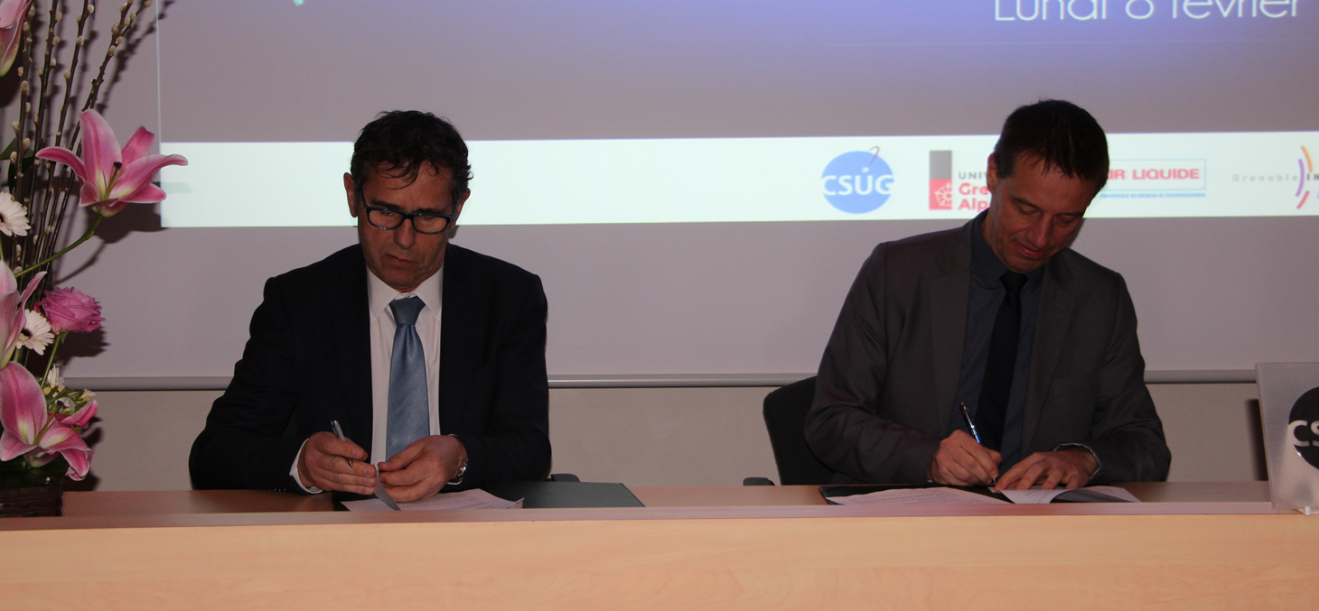 Signature convention AIR LIQUIDE